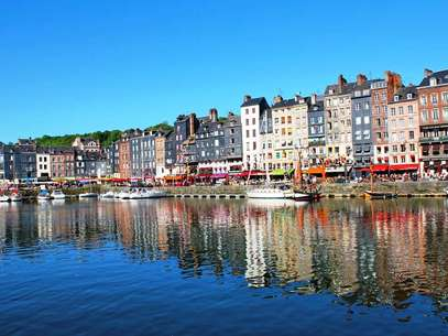 A pequena cidade portuária de Calvados, na Normandia, inspirou o surgimento do movimento impressionista Foto: Romain Cloff/Flickr