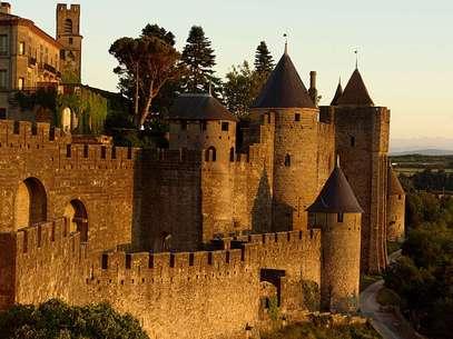 A pequena cidade de Carcassonne existe desde o século 1 a.C. Foto: Rob Glover/Flickr