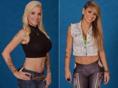 Clara e Vanessa brigam e depois se entendem Foto: TV Globo / Divulgação