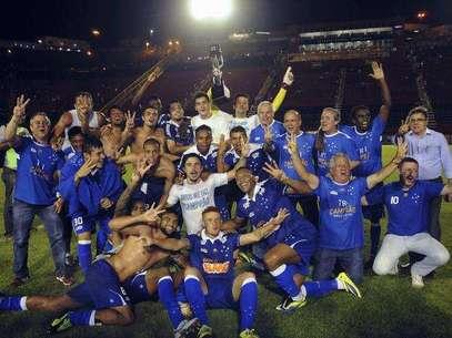 Vencedor do Campeonato Brasileiro, Cruzeiro é apontado como mais rico do torneio Foto: Terra