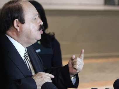 Levy Fidelix mostrou suas propostas de governo no debate Foto: Janaina Garcia  / Terra