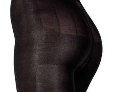 Tecido da meia-calça Sigvaris estimula microcirculação sanguínea na coxa e glúteo por meio do calor produzido pelo próprio corpo Foto: Divulgação