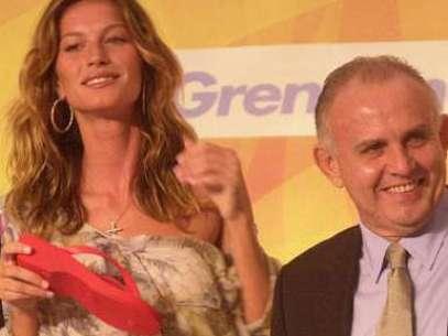 Gisele Bündchen e Alexandre Grendene, o novo bilionário brasileiro Foto: Divulgação