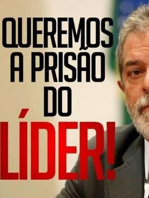Imagem que circula no Instagram insinua Lula como líder do Mensalão Foto: Instagram / Reprodução