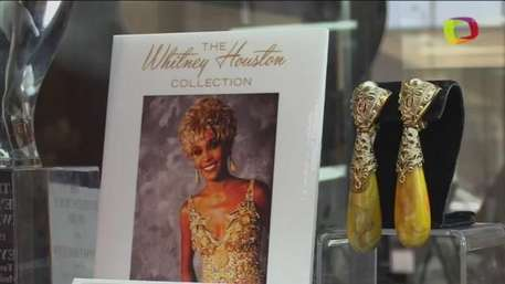 Los objetos personales de Whitney Houston salen a subasta en LA