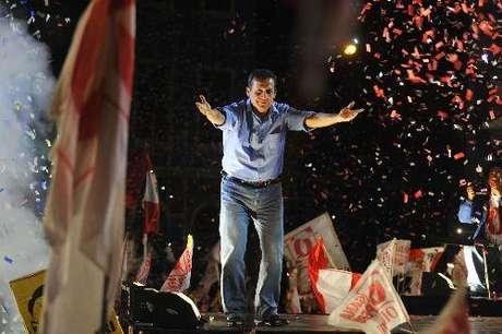 El electo presidente Ollanta Humala