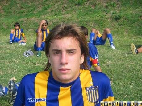 El malogrado jugador de Rosario.