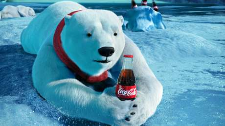 Los osos polares no pasaron sed durante el Super Bowl