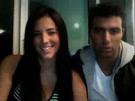 Foto: Gaby Espino & Jencarlos Canela / Twitcam / Terra