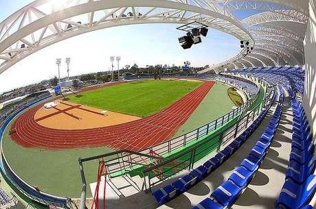 Estadio del complejo de atletismo de los Juegos Panamericanos