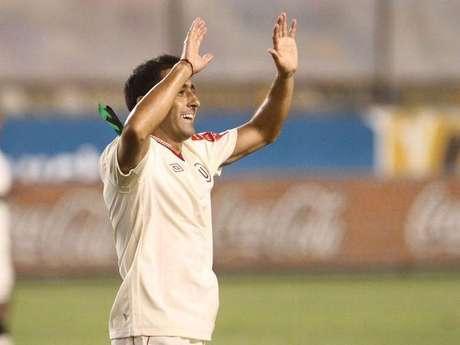 Ximénez anotó el gol definitivo y es el segundo que le marcó a Cienciano en lo que va del año.