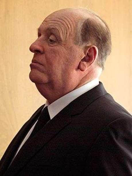 Anthony Hopkins casi irreconocible en su papel como Alfred Hitchcock