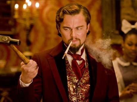 'Django Unchained' es la primera colaboración de Leonardo DiCaprio con el director Quentin Tarantino.