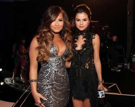 Demi Lovato y Selena Gomez, las mejores amigas.