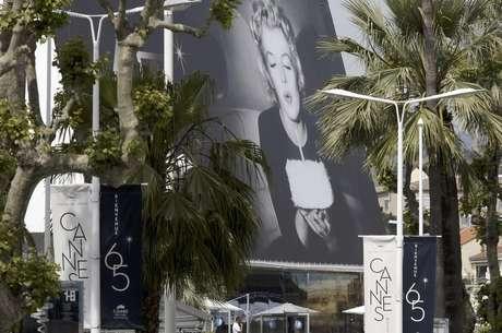 Una vista de la sede del 65 Festival de Cine de Cannes en Cannes, Francia, el martes 15 de may0 de 2012.