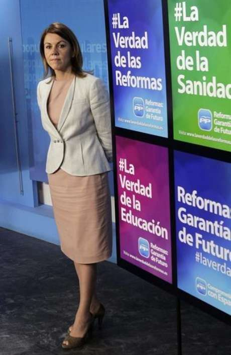 María Dolores de Cospedal (Agencia: EFE)