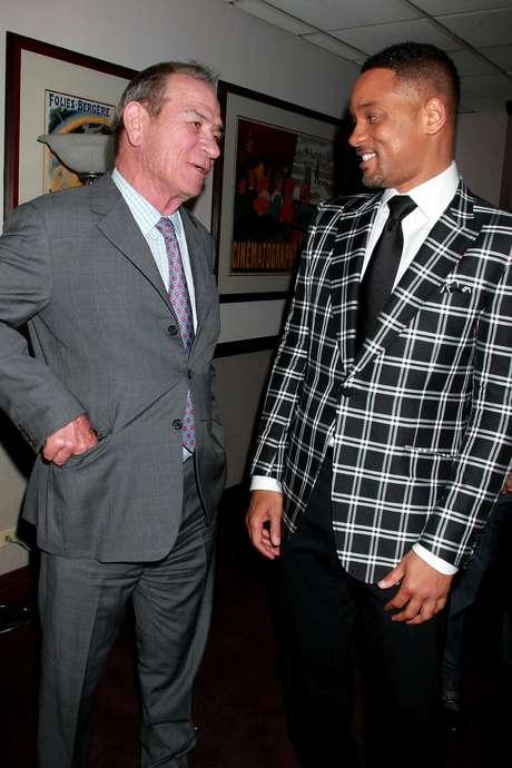 """Tommy Lee Jones y Will Smith en el estreno de la película """"Men in Black 3"""" (""""Hombres de Negro 3"""") en el cine Zeigfeld de Nueva York en una fotografía de archivo del 23 de mayo de 2012."""