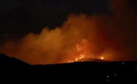 Pero no es el único incendio forestal que golpea a EE.UU. En Colorado, por ejemplo, son siete los puntos en el estado donde hay focos de incendio.