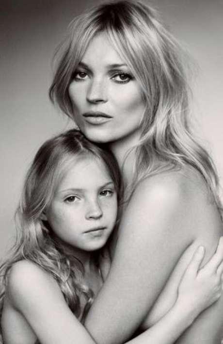 A la hija de Kate Moss le gusta la idea de ser modelo.