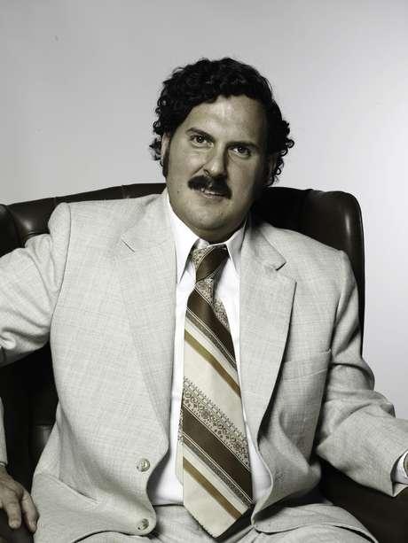 Andrés Parra realiza el papel de Pablo Escobar.