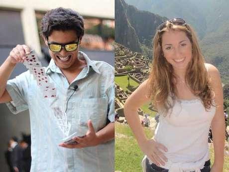 Marcos e Mariana só se conhecem por foto; o primeiro grande encontro irá acontecer no altar, em Las Vegas Foto: Facebook/Reprodução / Divulgação