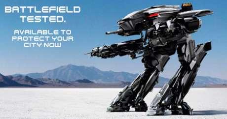 Imagen previa para el remake de 'Robocop'