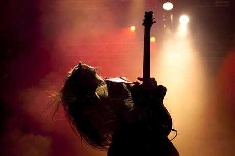 La banda madrileña Hamlet ha proseguido con el escenario Costa del Fuego tras la actuación de Marilyn Manson.