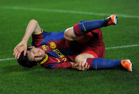 When Lionel Messi goes down, it hurts Barcelona's pockets.