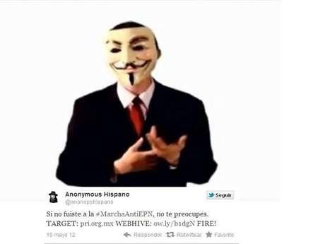 Anonymous pide a la sociedad mexicana confíe en ellos, y juntos le hagan entender al gobierno que el pueblo no le tiene miedo y llaman a romper la teledictadura.