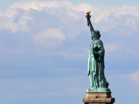 Imagen de la Estatua de la Libertad en Nueva York.