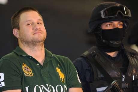 """Edgar Valdez Villareal, alias """"La Barbie"""" fue detenido el 31 de agosto de 2010."""