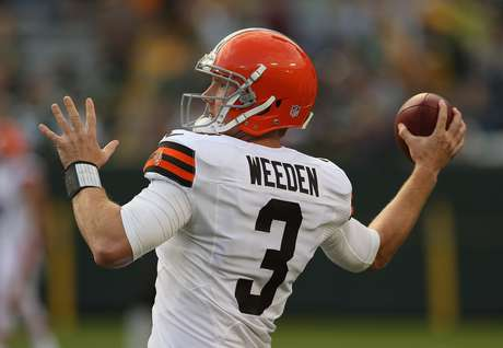 Brandon Weedon has already secured his job as the Cleveland Browns starting quarterback. Hes had up and downs in the preseason, with 12-of-20 passes for 118 yards in his debut. He also had some bad decisions that he was lucky did not result in interceptions. Hes likely to have such an easy matchup in the regular season.
