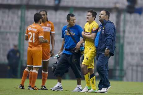 Efraín Juárez could be out three weeks, though it seemed it would be longer with the graphic nature of the injury.