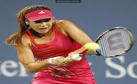 Sorana Cirstea of Romania is another beautiful talent in the tournament.