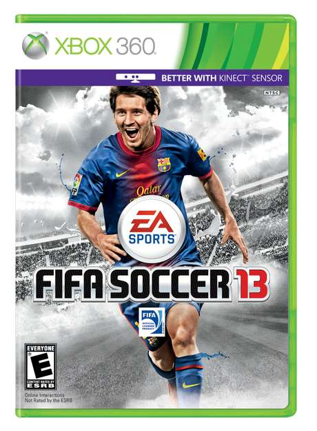 EA Sports has released its various FIFA 13 covers. Lionel Messi of Barcelona and Argentina makes the cover for the Americas.