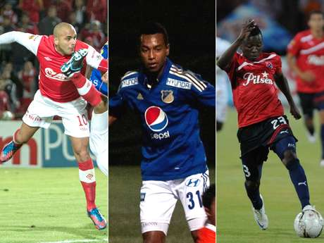 Omar Pérez de Independiente Santa Fe, Cristian Alarcón de Millonarios y William Zapata del DIM, fueron protagonistas en la victoria de sus equipos jugada la sexta fecha de la Liga Postobón II-2012