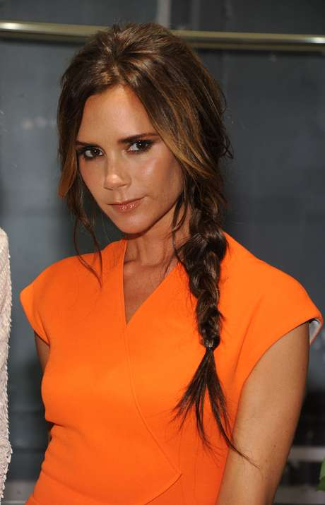 Victoria Beckham participou do Fashion's Night Out em Nova York