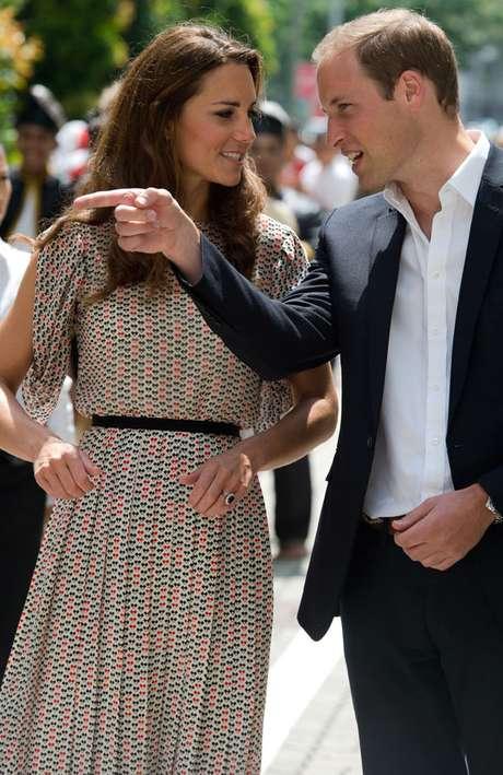 Los duques de  Guillermo y Catalina se encuentran de gira en distintos países en representación de la reina Isabel II con motivo de su jubileo.
