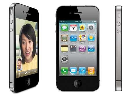 En octubre de 2011 Tim Cook, en sustitución de Steve Jobs, presentó el iPhone 4GS, con el procesador A5 de Apple de doble núcleo, cámara de 8 megapíxeles que permite hacer fotos de más calidad y realizar vídeos en alta definición a 1080p. Además, incorpora mejoras en su batería y Siri, el sistema de reconocimiento de voz exclusivo para el iPhone 4GS.