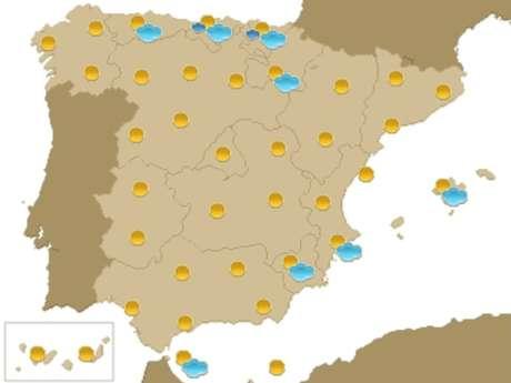 Previsión meteorológica para el 14 de septiembre