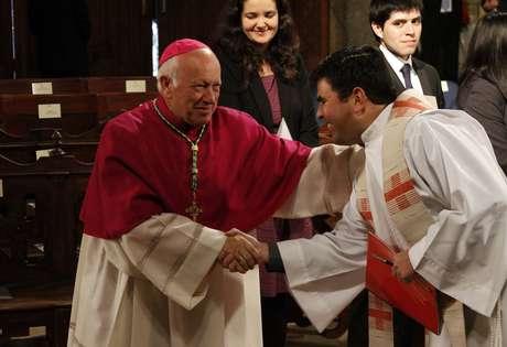 El arzobispo Ricardo Ezzati.
