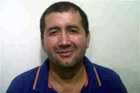 "Alleged Colombian drug trafficker Daniel Barrera, known as ""Loco Barrera"", is seen in this handout photo provided by the national police on September 18, 2012."