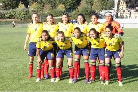 Selección Colombia Femenina sub-17 venció 4-0 a Azerbaiyán