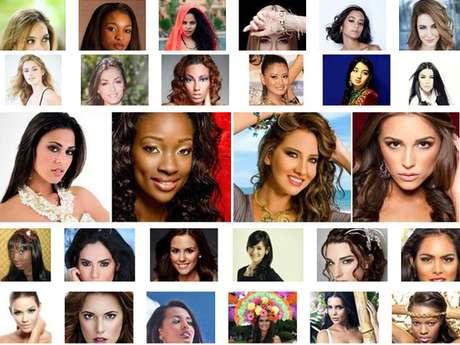 Estos son los rostros de las mujeres más bellas del planeta, que competirán por reemplazar a Leila Lopes como soberana, durante la edición número 61 de Mis Universo ¿Cuál de ellas se llevará la corona?