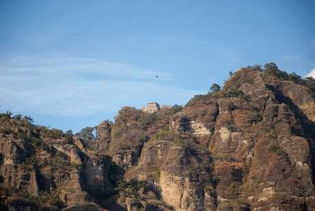 Hasta la fecha permanece grabada la imagen de la bruja en las rocas del Tepozteco.