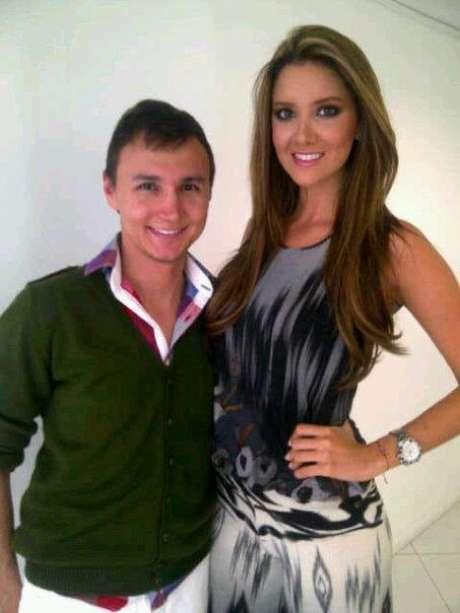 Mauricio Leal, maquillador profesional.