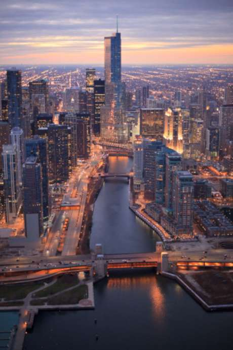 Known as The Windy City, Chicago as the home of Barack Obama before he rose to fame to become the president of the United States. Also, it is the city where he met his life partner, and first lady, Michelle Obama.