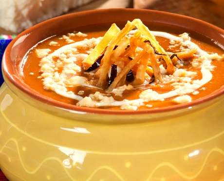 Una sopa deliciosa para el Día de Acción de Gracias