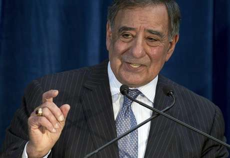 U.S. Defense Secretary Leon Panetta speaks during a news conference following meetings as part of the Australia-United States Ministerial Consultation (AUSMIN) at the State Reception Centre in Kings Park in Perth November 14, 2012.