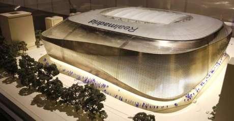 Así será el estadio Santiago Bernabéu con techo